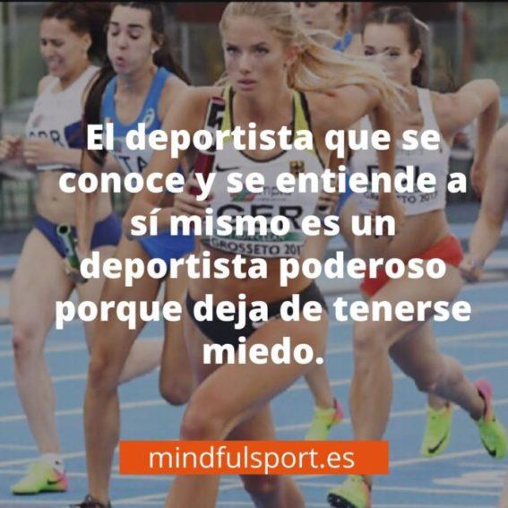 psicología deportiva. Autoconocimiento